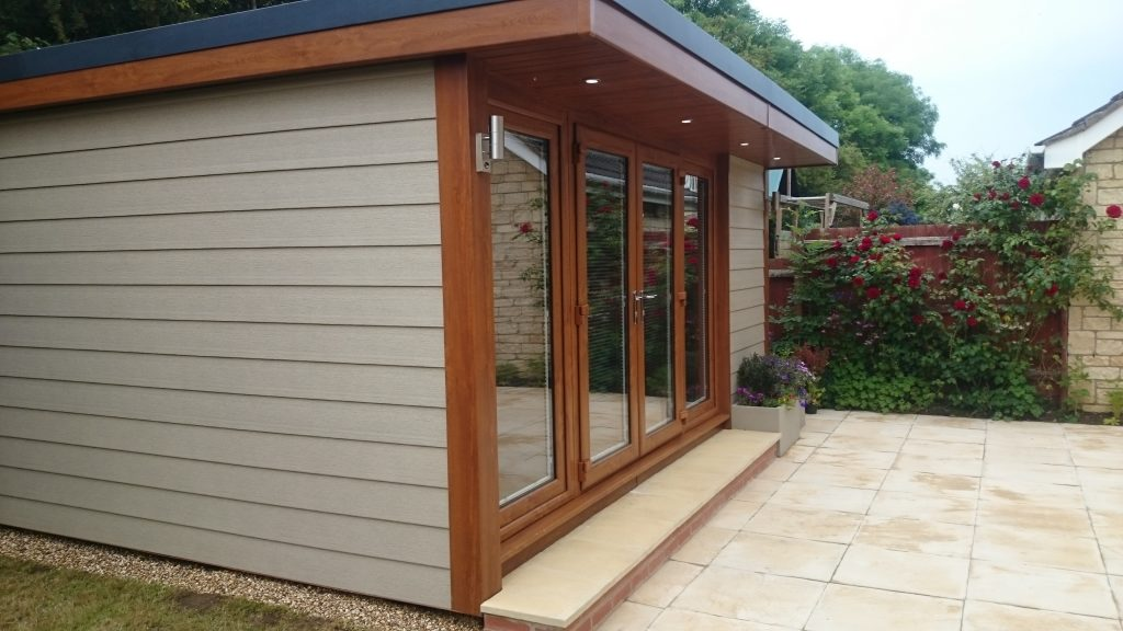 Garden building gallery view garden rooms offices for Garden office gym