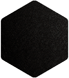 Black colour sample from our Products and Finishes brochure.