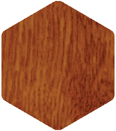 Golden Oak colour sample from our Products and Finishes brochure.
