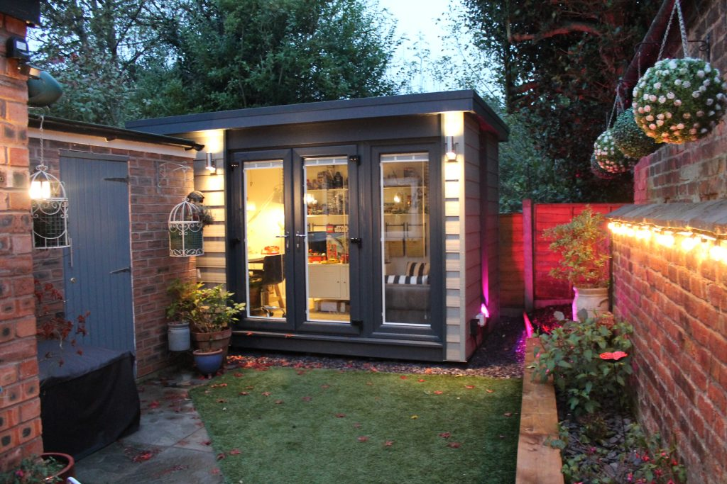 Garden building gallery view our insulated garden rooms for Home and garden room planner