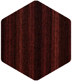 Mahogany colour sample from our Products and Finishes brochure.