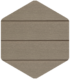 Walnut cladding sample from our Products and Finishes brochure.