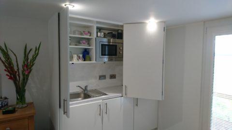 Granny Annexe Hideaway Kitchen
