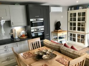 Granny Annexe Open Plan Kitchen View