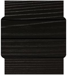 Black Cedral Sample for garden room