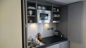 Granny Annexe Hideaway Kitchen Installation by The Green Room