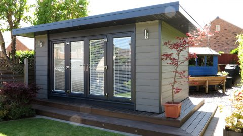 Bespoke Garden Office By The Green Room