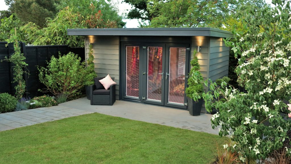 Garden building gallery view our insulated garden rooms for The garden room company