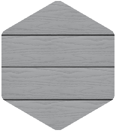 The Green Room PVC Moondust Grey Sample