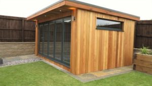 Garden Room Cladding Western Red Cedar